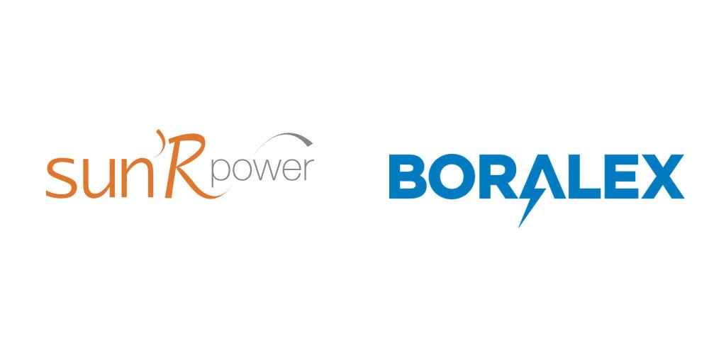 logos Sun'R Power et Boralex